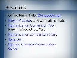 Wade Giles Pinyin Chart Ppt Introduction To Pinyin Powerpoint Presentation Free