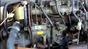 TOYOTA LAND CRUISER 3B DIESEL ENGINE TESTRUN - YouTube