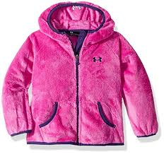 Under Armour Girls Big Coldgear Cozy Hooded Jacket With