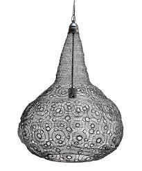 moroccan inspired metal chandelier