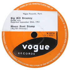 House Rent Bill Beauteous Big Bill Broonzy House Rent Stomp The Moppin' Blues Shellac At