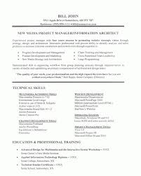 Project Manager Resume Example Within Project Manager Resumes