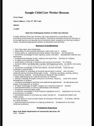 Childcare Resume Cover Letter Best Ideas Of Sample Childcare Cover Letter No Experience On Child 28