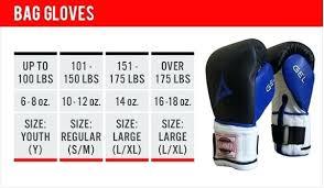 Boxing Glove Size Chart Rdx Mma Gloves Size Chart Bedowntowndaytona Com