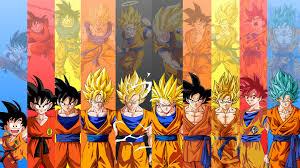 1080p Goku All Forms Wallpaper ...
