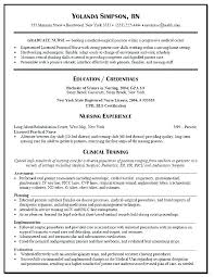 Sample Student Nurse Resume New Graduate Nurse Resume New Grad