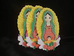 Virgen De Guadalupe Embroidery Design Cute Mini Virgen De Guadalupe Figura De Foamie Para Bautizo Confirmacion