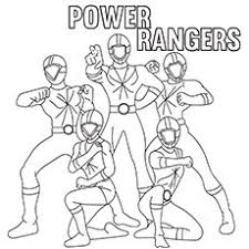 Top 35 Free Printable Power Rangers Coloring Pages Online 2017
