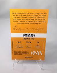 onyx box march 2017 3997