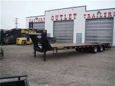 big tex trailers 83 x 16 triple axle low profile extra wide trailers 2015 big tex trailers 22gn25 5 w 23900 gvwr in