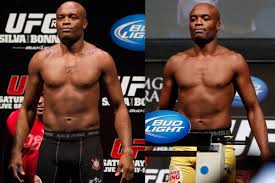 Ufc Light Heavy Side By Side Anderson Silva At Light Heavyweight Vs The