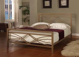 ... Impressive Bedroom Design Using King Size Bed Headboards : Beautiful  Bedroom Decoration With Brown Iron King ...