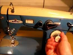 Morse Deluxe Zig Zag Sewing Machine