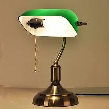 vintage desk lamp color