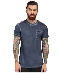 rvca cold call short sleeve knit in blue for men lyst gallery