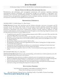 Manager Resume Objective Best 5713 Fascinating Sample Retail Store Manager Resume Objective With