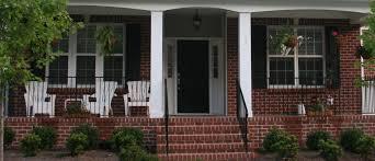 Brick Front Stoop Designs Front Porch Ideas Brick House Icmt Set Front Porch