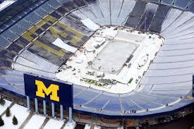 Michigan Stadium Club Level Seating Chart 2014 Bridgestone Winter Classic Update Will My Seats Suck