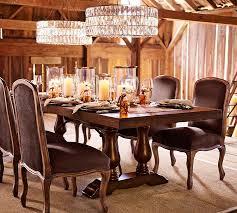 pottery barn style dining table:  arlington hurricane o