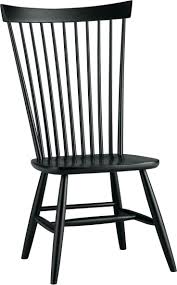 black windsor chairs. Dining Chairs: Marlow Ii Black Side Chair In Kitchen Chairs Windsor
