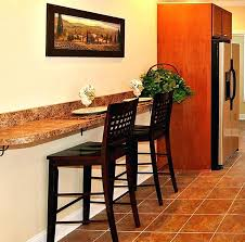 wall mounted countertop kitchen
