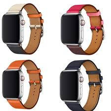 yifalian black brown genuine leather single tour bracelet watch strap for iwatch apple watch band 38mm 42mm malaysia