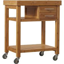 gadget countertops bamboo stand kitchen roll loon peakampreg powderhorn kitchen cart with bamboo top