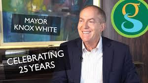 Celebrating 25 Years   Mayor Knox White   Greenville, SC - YouTube