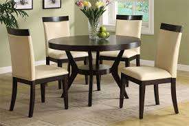 small round kitchen table sets inside dining tables interesting circular and chairs inspirations 14