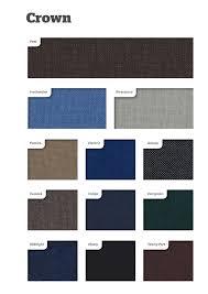 Dobbins Office Furniture Fabric Colour Charts