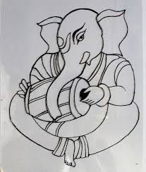 glass painting of ganesha on above image and copy the real image of best quality and then print it for use