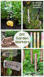 diy garden markers a fun way to add color and personality to your garden