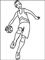 Kleurplaten Basketbal Gratis Kleurplaten