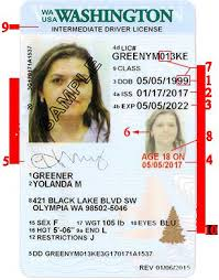 Issued Id still Features driver's But 02 Prior Id In Washington 2017 To Security License Use Sample