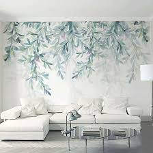 nature decor wall decor forest fresco