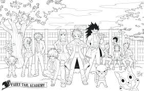 Fairy Tale Printable Coloring Pages Colouring Tail Anime Kids Free