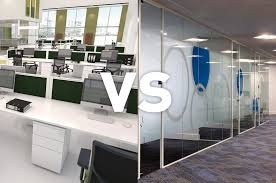 image office space. Open Plan Vs Enclosed Office Space Image