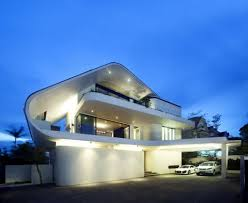 Architecture:Exterior Designs Of Modern Homes Idea Amazing Modern Tropical  House Architecture With Beautiful Lighting