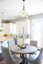brilliant ideas gray round dining table stunning kitchen and with regard to decorations 10
