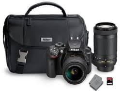 hitachi 60r70. nikon d3400 dslr camera bundle w/ 2 lenses, battery, \u0026 sd card hitachi 60r70