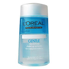 l oreal paris gentle lip and eye make up remover for waterproof make
