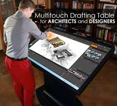 Multitouch Drafting Table For Architects Designers Ideum