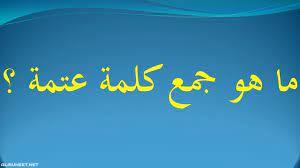 جمع كلمة نعناع في اللغة العربية