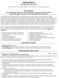 Senior Financial Analyst Resume Sample Senior Financial Analyst Resume Operations Analyst Resume Operations