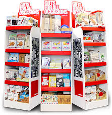 Free Standing Shop Display Units Inspiration Excellent Free Standing Display Units For Retail Free Standing