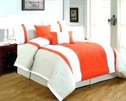 orange and gray bedding burnt orange quilt orange grey and white bedding
