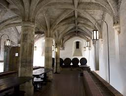 file king henry the viii s wine cellar underneath the mod main building in london mod