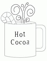 Small Picture Hot Chocolate Coloring Page wwwkanjireactorcom
