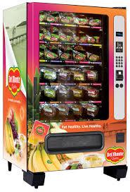Fruit Vending Machine Extraordinary Del Monte Fresh Fruit And Vegetable Vending Machines In Manhattan