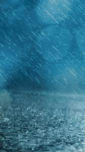 Ultra HD Blue Rain Wallpaper For Your ...